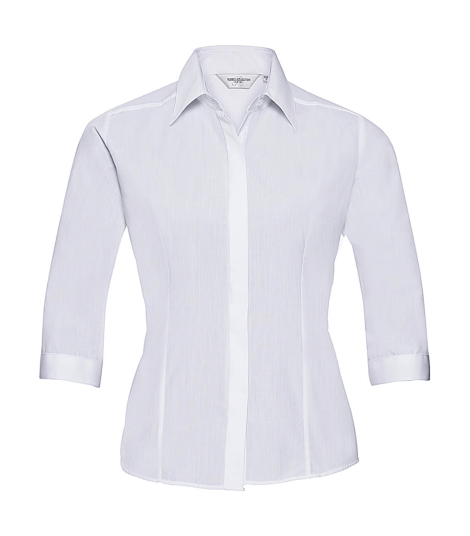 3/4 sleeve Poplin Shirt