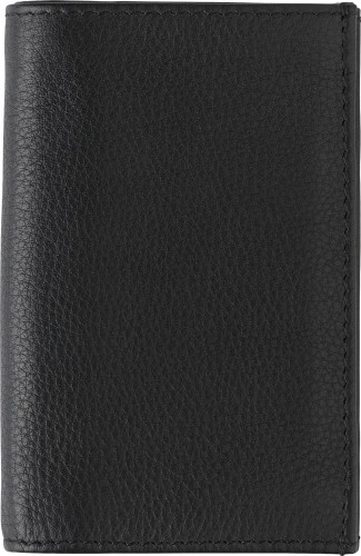 Split leather credit card wallet